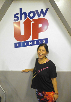 Danielle-      I've been working with Thomas since July 2016 and the experience has been remarkable! The environment at Show Up Fitness is what makes me feel most comfortable.  The space is perfect and I enjoy seeing similar, friendly faces on a regular bases.  I've learned to Deadlift, Squat, and Hip Thrust.  I never thought I'd be able to get so incredibly strong. I sit at an office all day and because of my workouts with Thomas, I feel my energy levels have greatly increased.