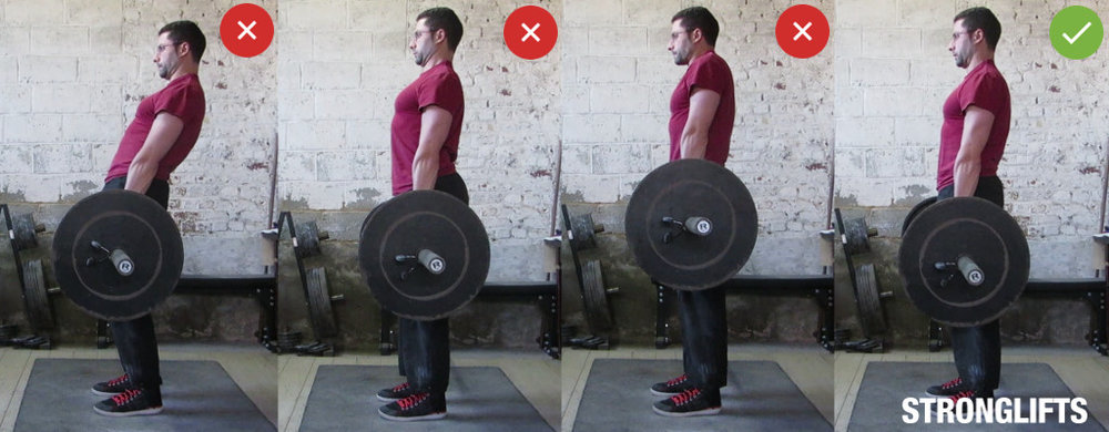 how to deadlift SHOW UP FITNESS
