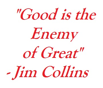 from good to great jim collins Show Up Fitness