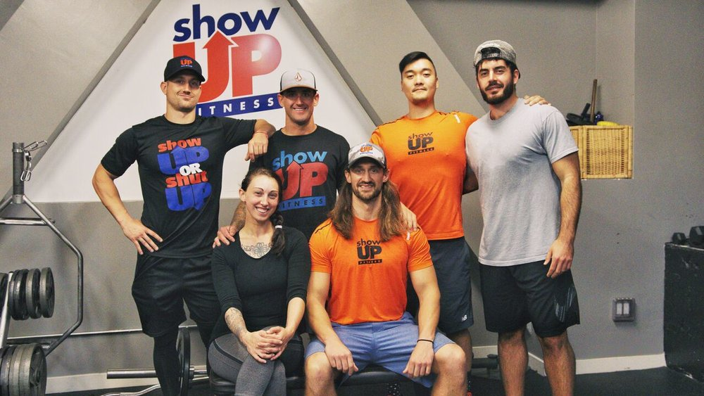 Show Up Fitness Academy Graduating Class