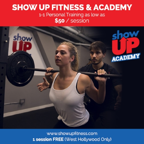 For a limited time, we will be offering $50 training sessions at our WEST HOLLYWOOD LOCATION!  Sign-Up today and don't miss out on this awesome offer!