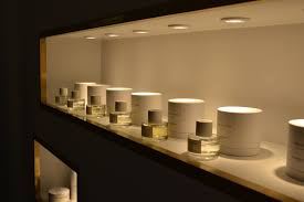 Cloon Keen Atelier's perfumed display