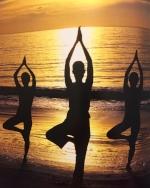Yoga beach sunset Spa Style book large.jpg