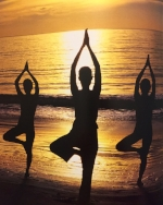Yoga beach sunset Spa Style book large.jpg
