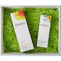 Kinvara Skincare 24hr Rosehip Serum & Cleanser combo