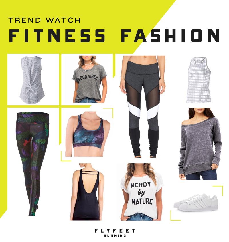 Fitness Fashion Trends via Fly Feet Running