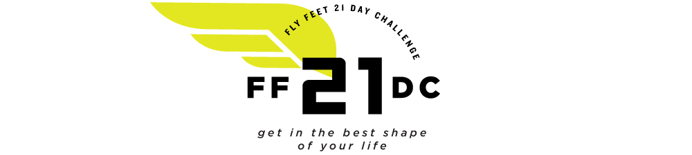 Fly Feet Running - 21 Day Challenge