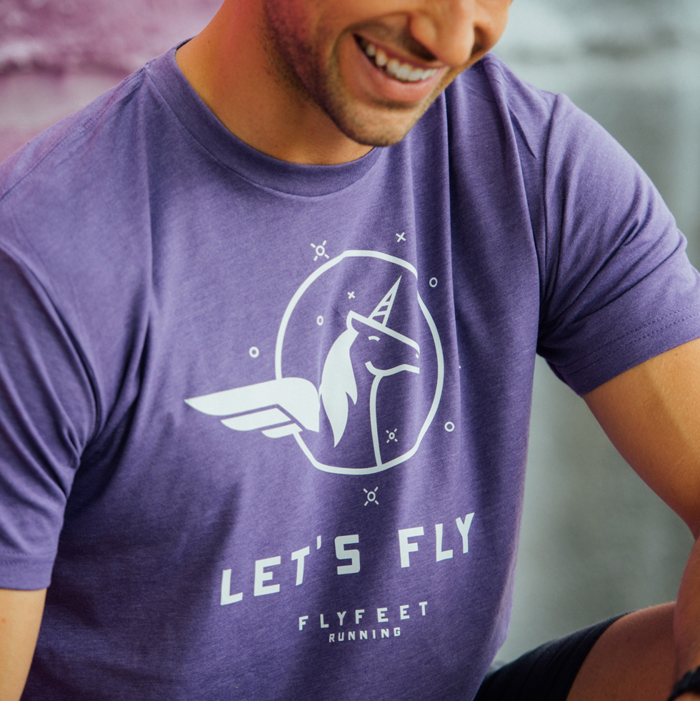 Fly Feet Running - Apparel