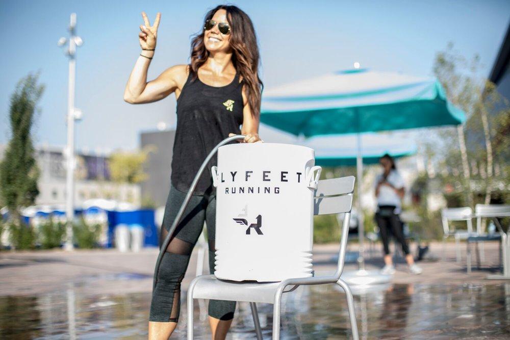 Kristin Shane, Owner Fly Feet Running