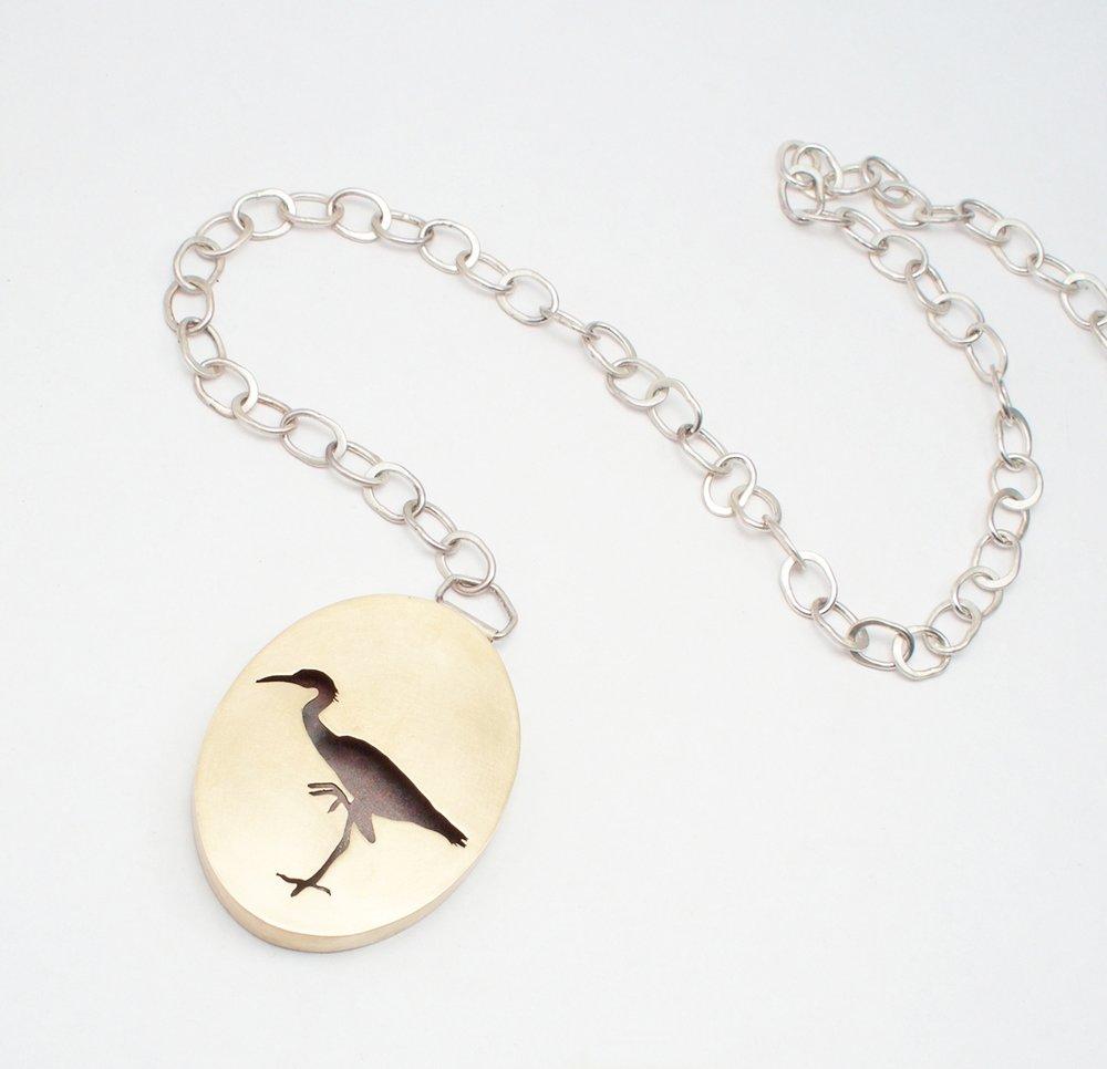 Heron & Chunky Chain
