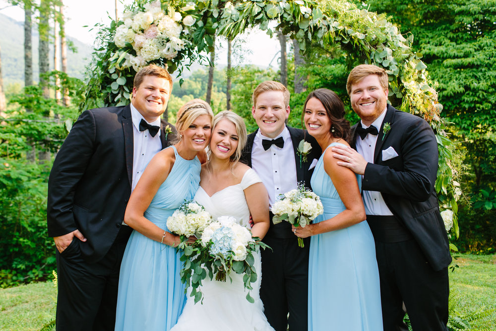 Knoxville Photographer Classic Outdoor Wedding Family Photo