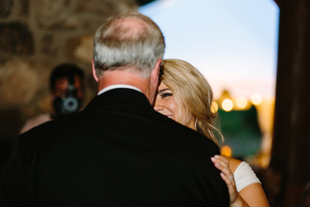 Knoxville Photographer Classic Outdoor Wedding Father Daughter Dance