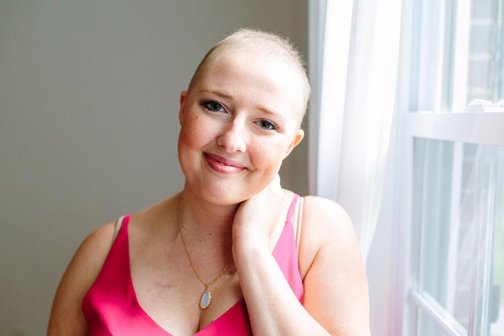 Cancer Patient Portrait // Self Love & Body Acceptance