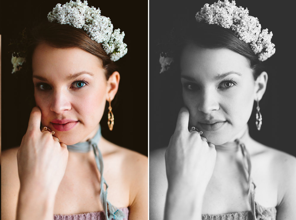 Knoxville Editorial Photography // Botanical Inspiration Shoot // Suzy Collins Photography // Flower Power