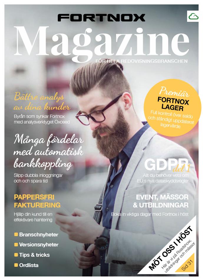 Fortnox Magazine - Läs hela tidningen här
