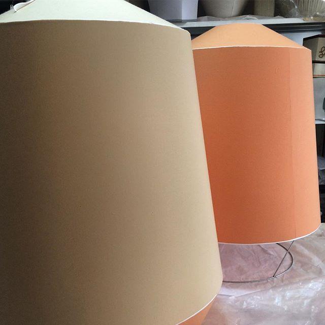 BIG ONES #workinprogress #bespoke #lamps 🌶#lighting #servomuto