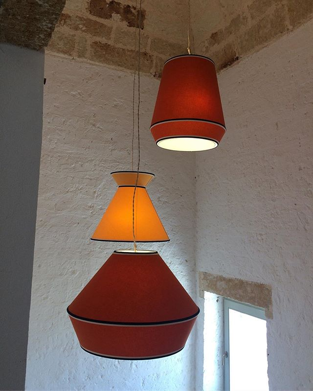 Light! 💡  Bespoke lamps in Salento