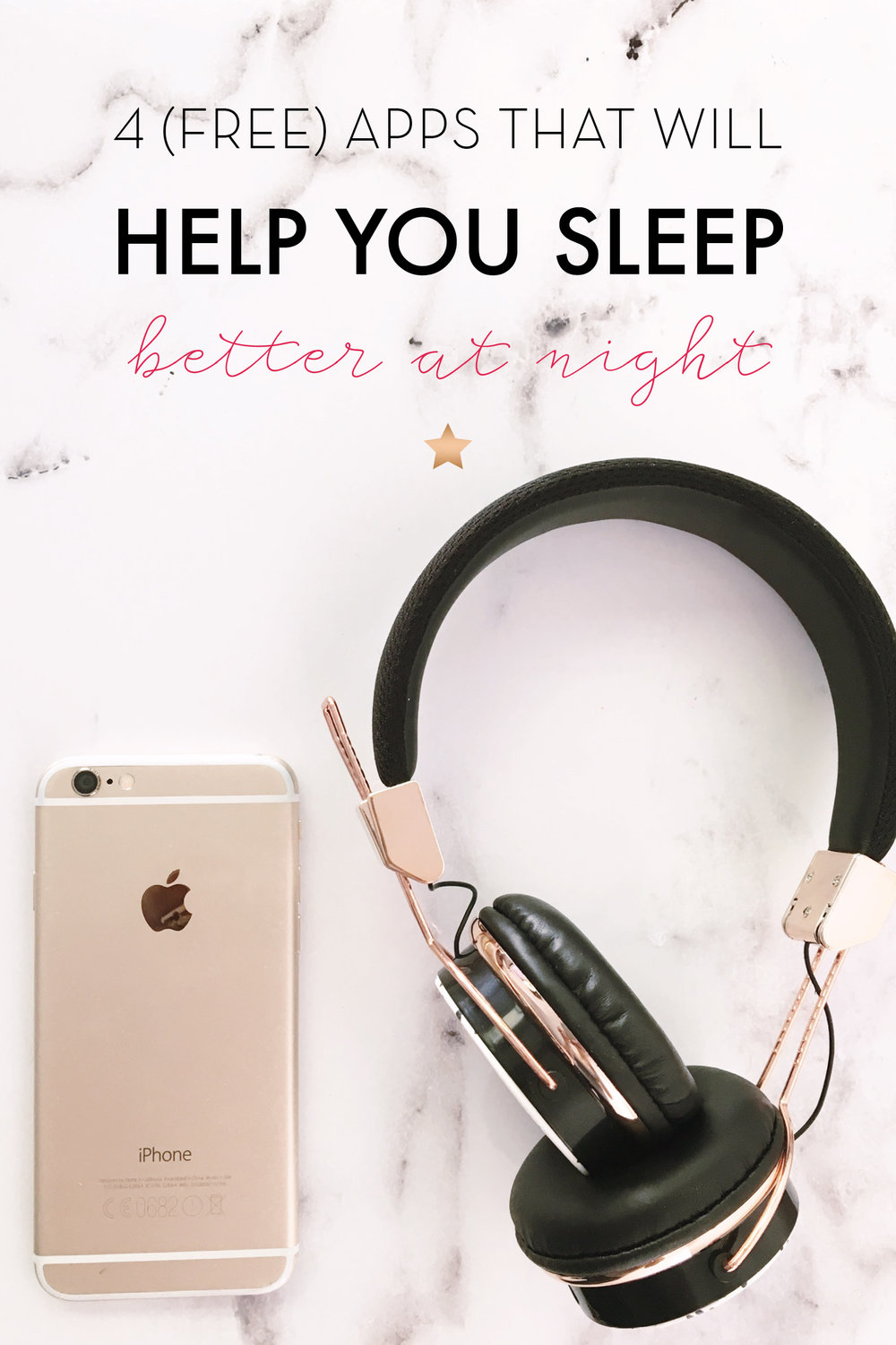 4 (Free) Apps That Will Help you Sleep Better At Night (with a little bit of help from my digital friends)