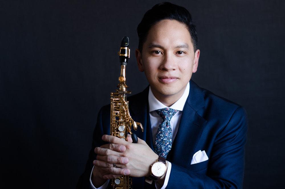 Joseph Abad, saxophonist