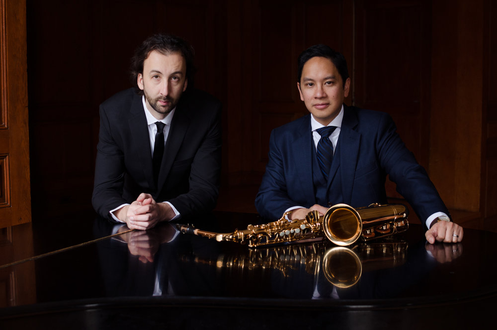 Prometheus Duo - Joseph Abad, saxophone and Marko Stuparevic, piano
