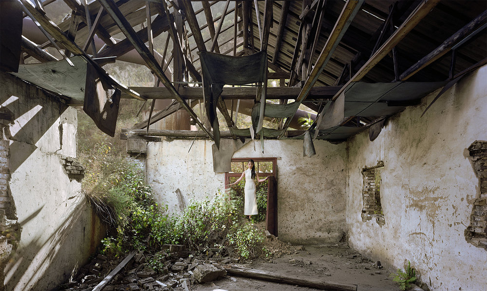 Afternoon (The Great Third Front Series), 2008, 43 x 71 inches, Chromogenic photograph
