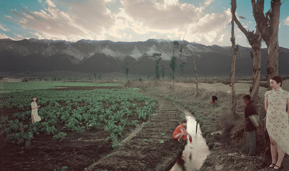 Irrigation (Temptation Series), 2008, 43 x 71 inches, Chromogenic photograph (Edition 3 of 12)