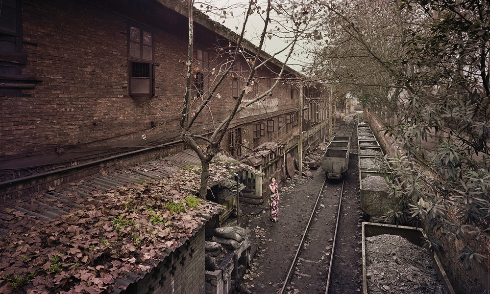 Furong Mine (The Great Third Front Series), 2008, 43 x 71 inches, Chromogenic photograph (Edition 7 of 12)