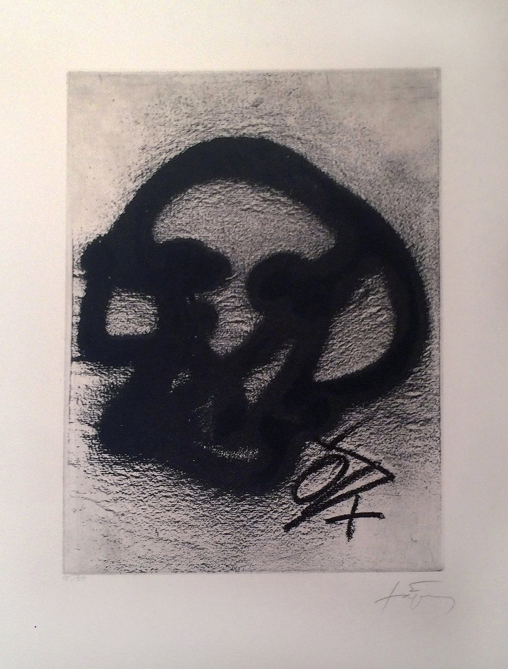 Equation III (ed. 15 of 50), 1987, 25 x 19 inches, Etching
