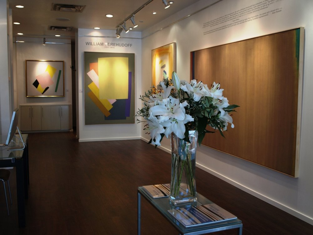 Han Art - Inside the gallery II - William Perehudoff exhibit.JPG