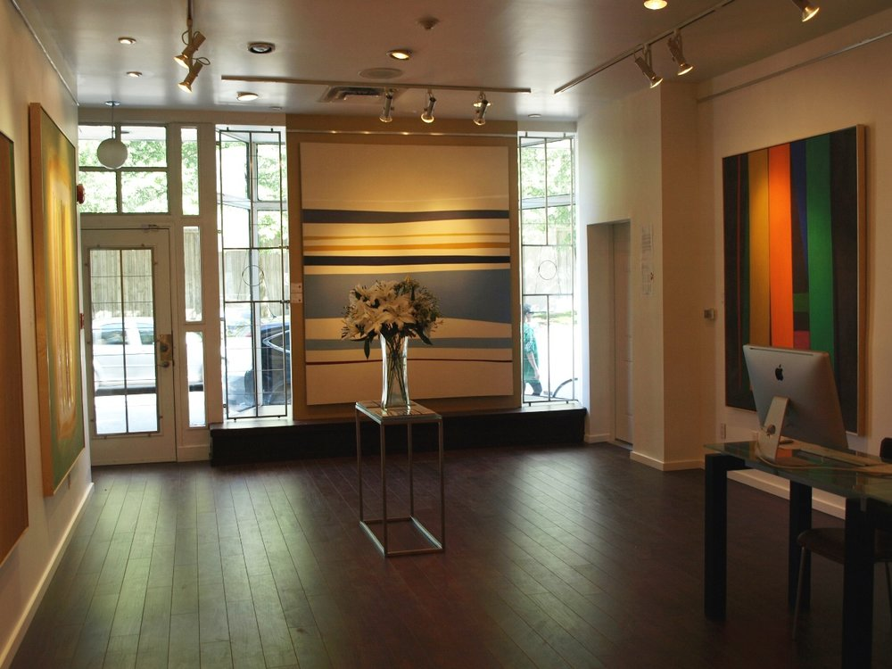 Han Art - Inside the gallery III - William Perehudoff exhibit.JPG
