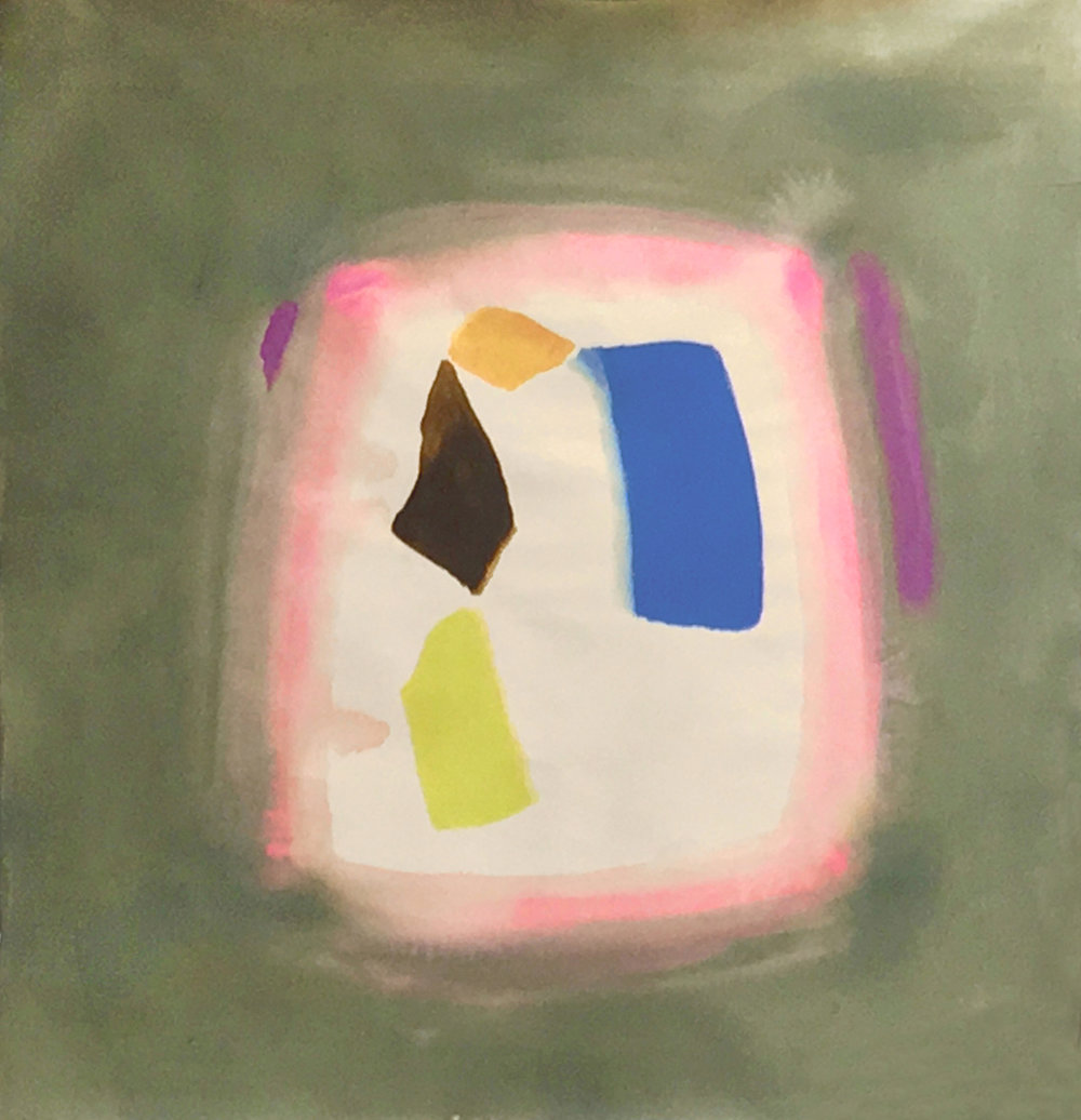 AC-88-50, 1988, 58 x 54.5 in., Acrylic on canvas