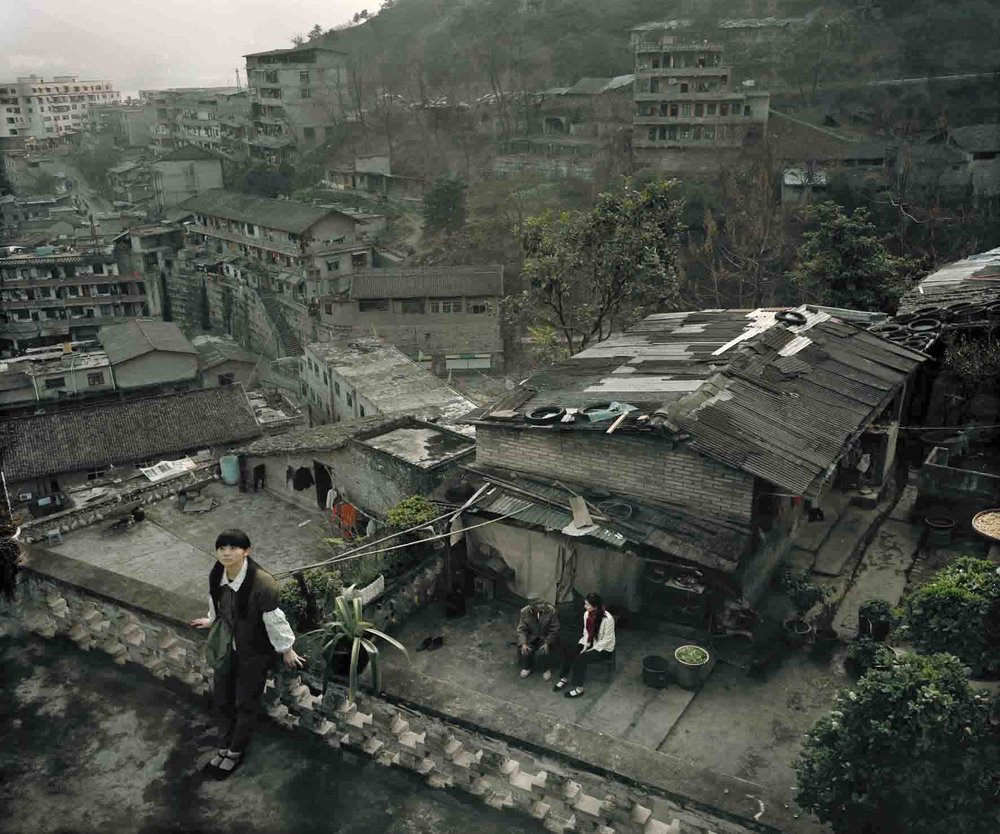 Old Town Story (Fengjie) (Smog Series), 2009, 110 x 130 cm, Chromogenic photograph (Edition 2 of 5)