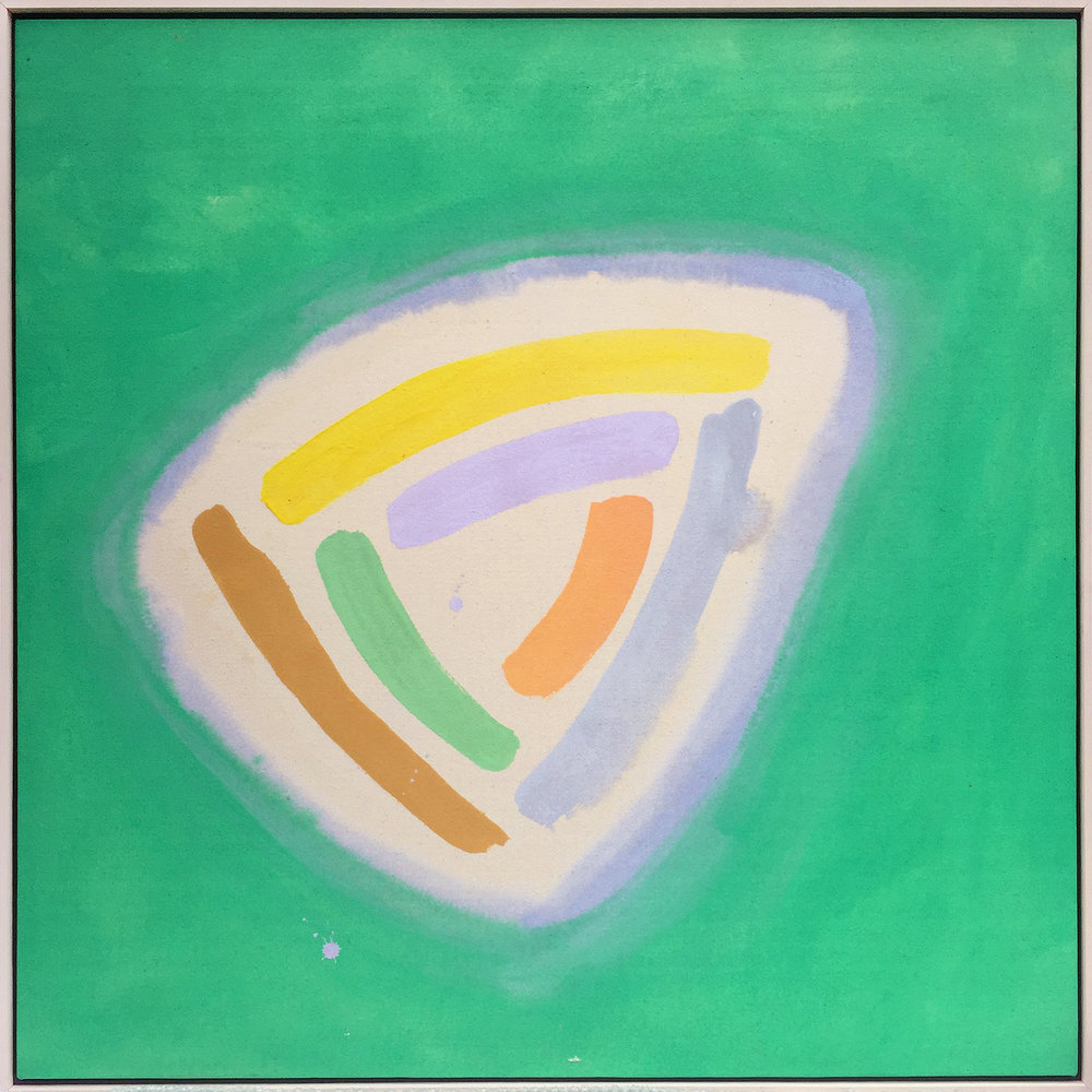 AC-87-110, 1987, 42 x 42 inches, Acrylic on canvas