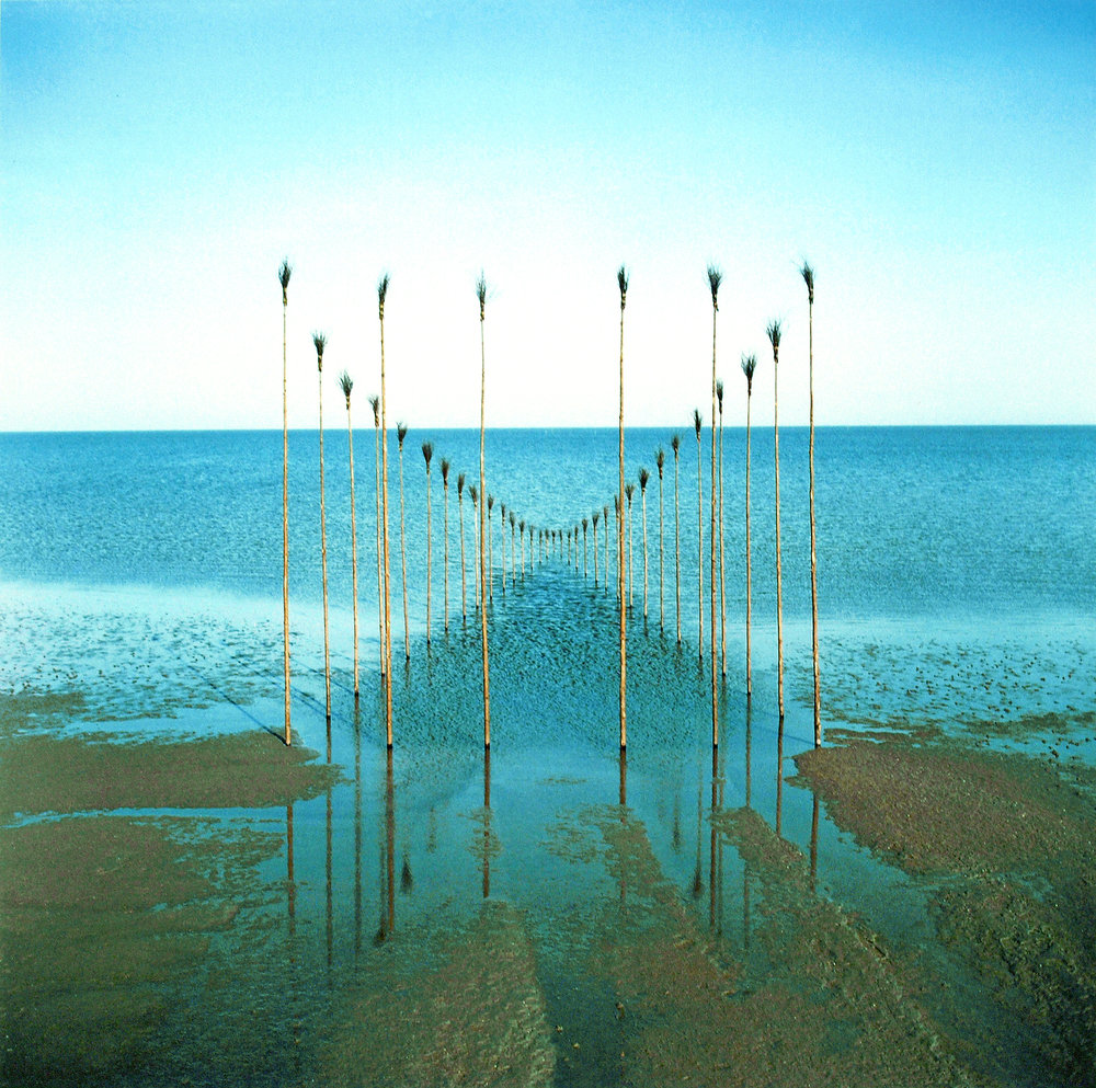 Waterhouse, 1982, 39 x 39 inches (48.9 x 48.9 inches with frame), Cibachrome photograph