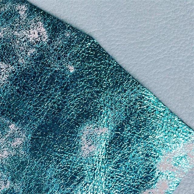 The blues #heynoen #noen #designerslife #textures #leathers #blue