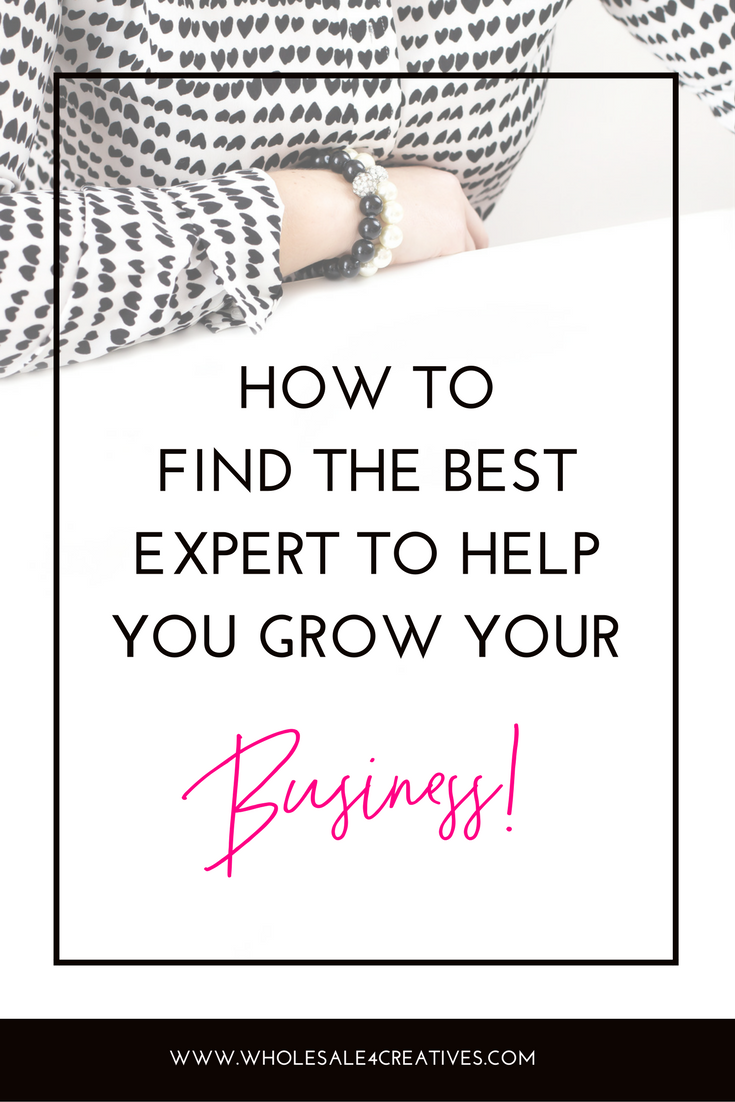 Hire an expert to grow your business