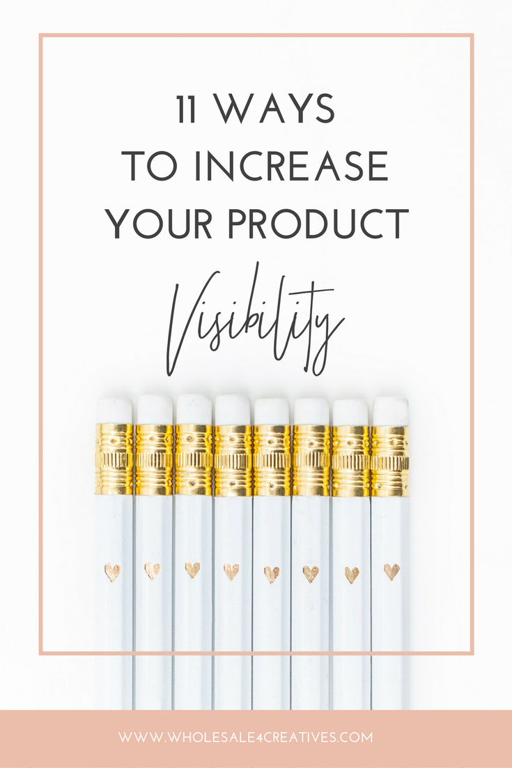 increase your product visibility