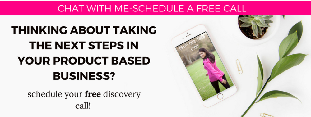 free discovery call for product based business owners