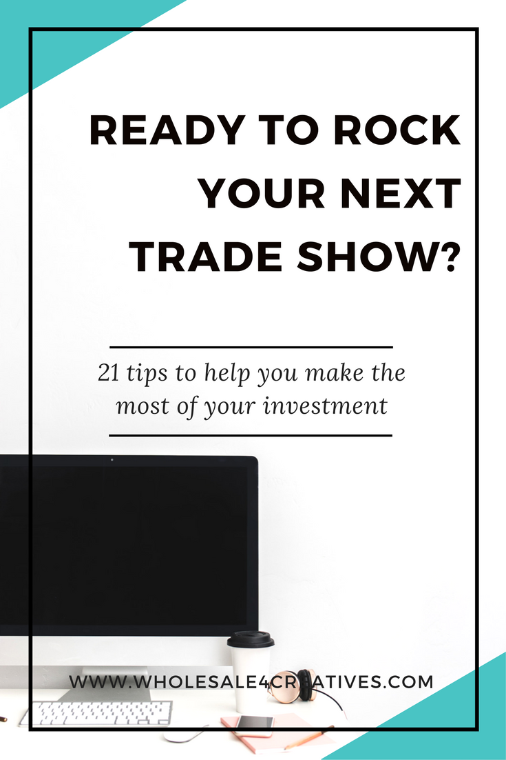 trade show tips for product based businesses