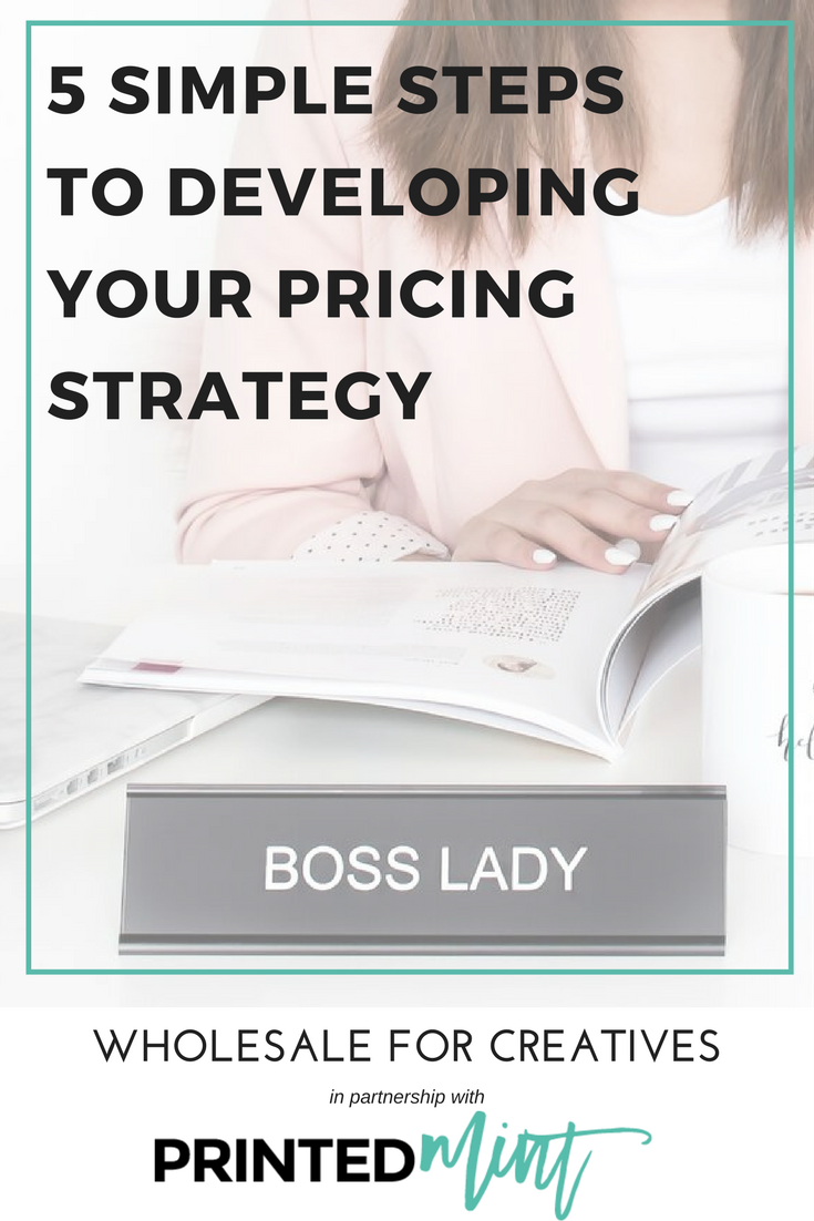 how to develop your product pricing strategy with printed mint