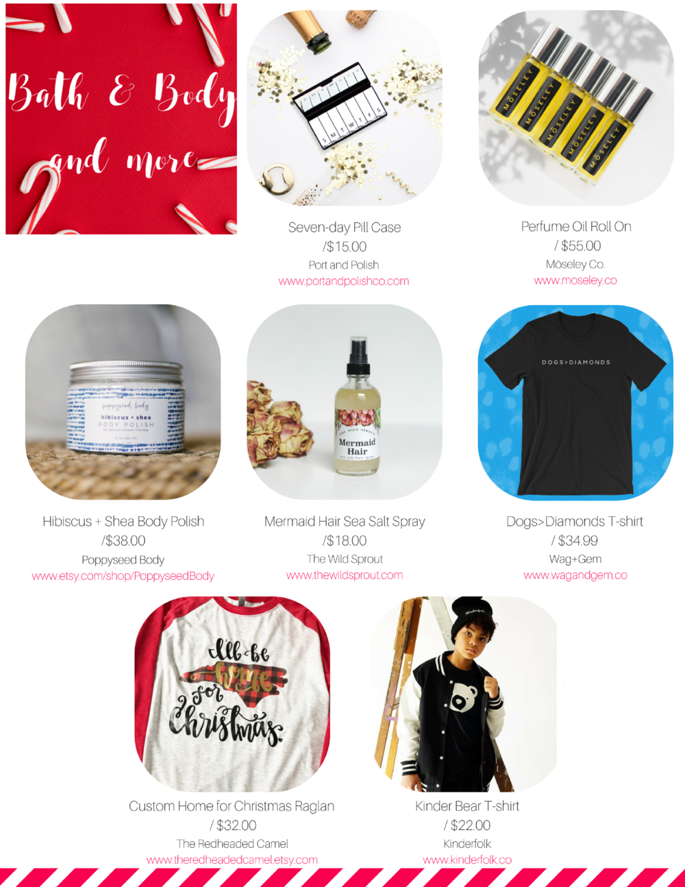 bath and body holiday gifts 2017 gift guide