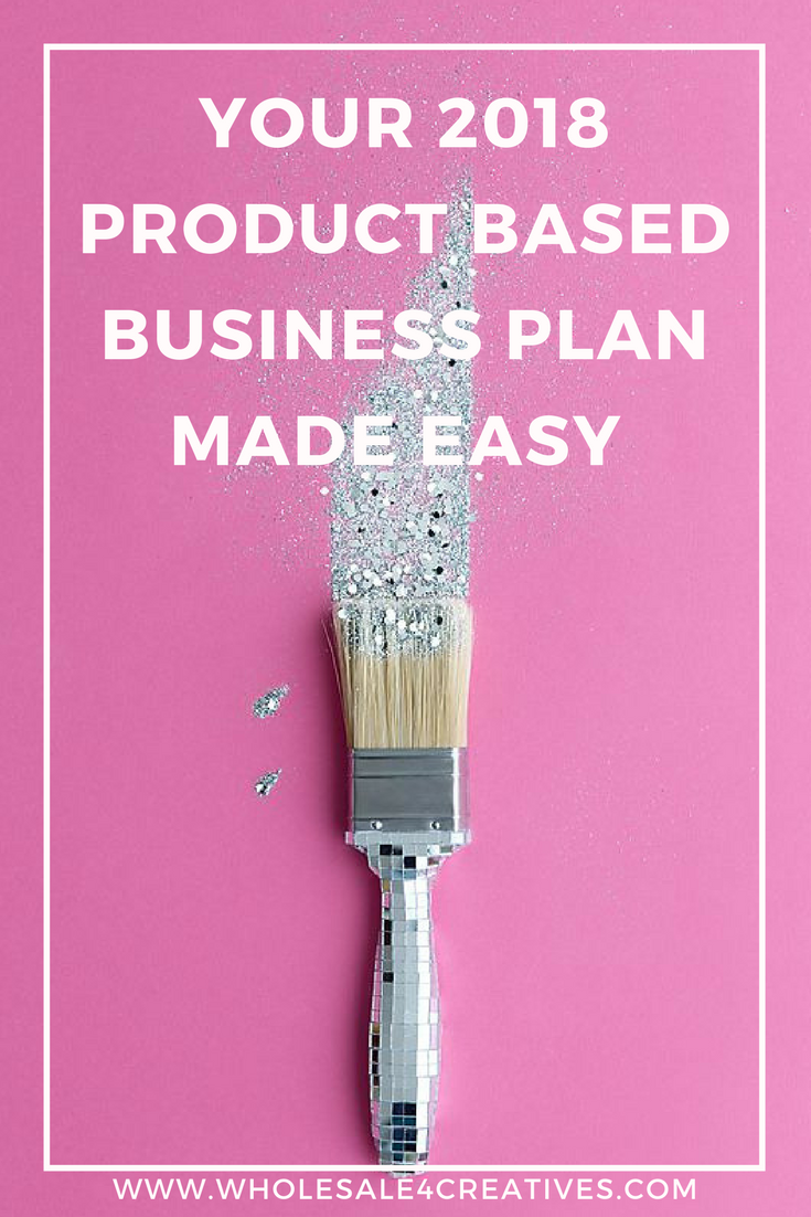 PLANNING FOR YOUR PRODUCT BASED BUSINESS