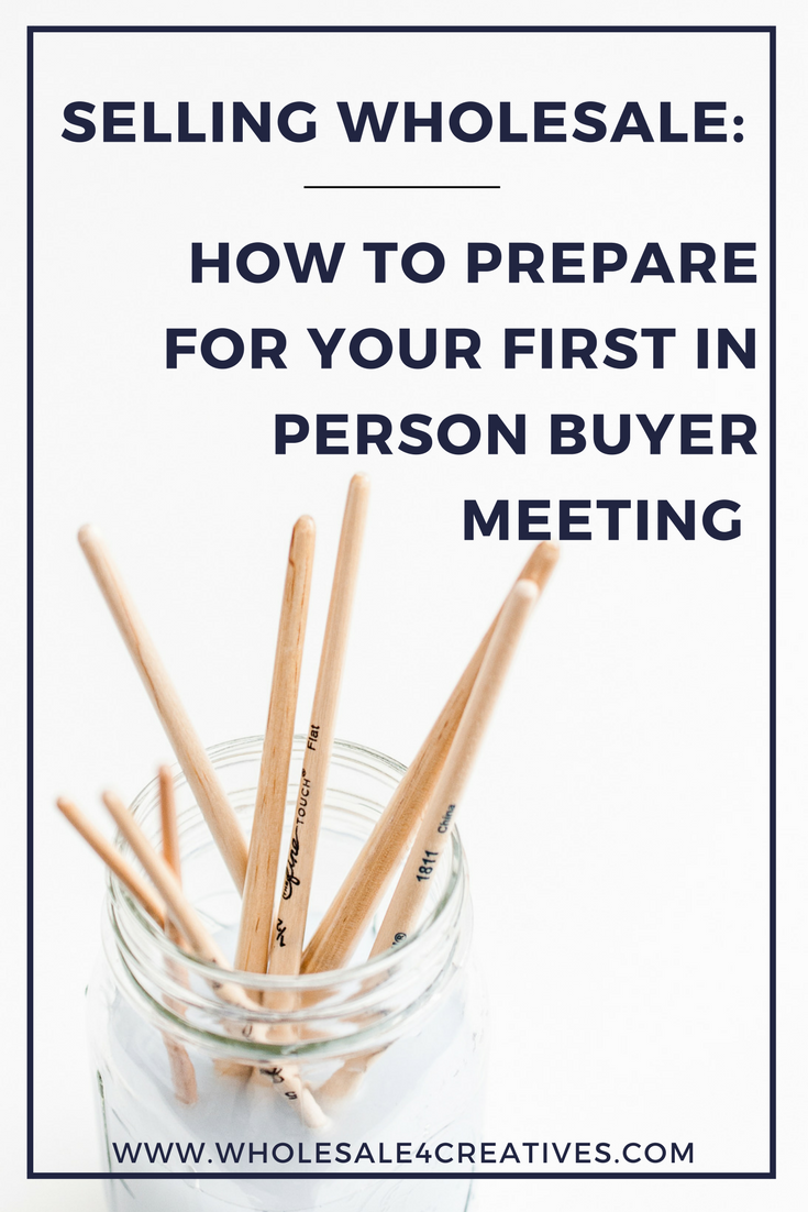 selling wholesale-how to prepare for a meeting with a buyer