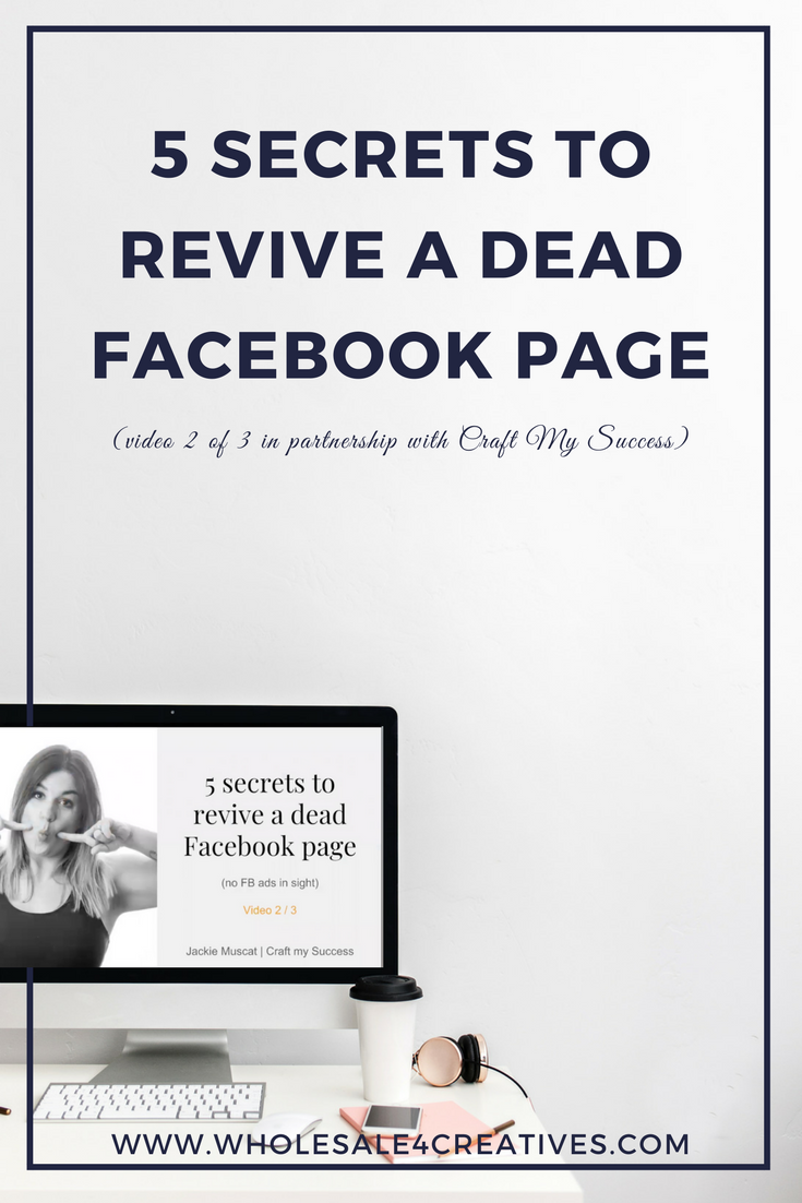 revive a Facebook business page
