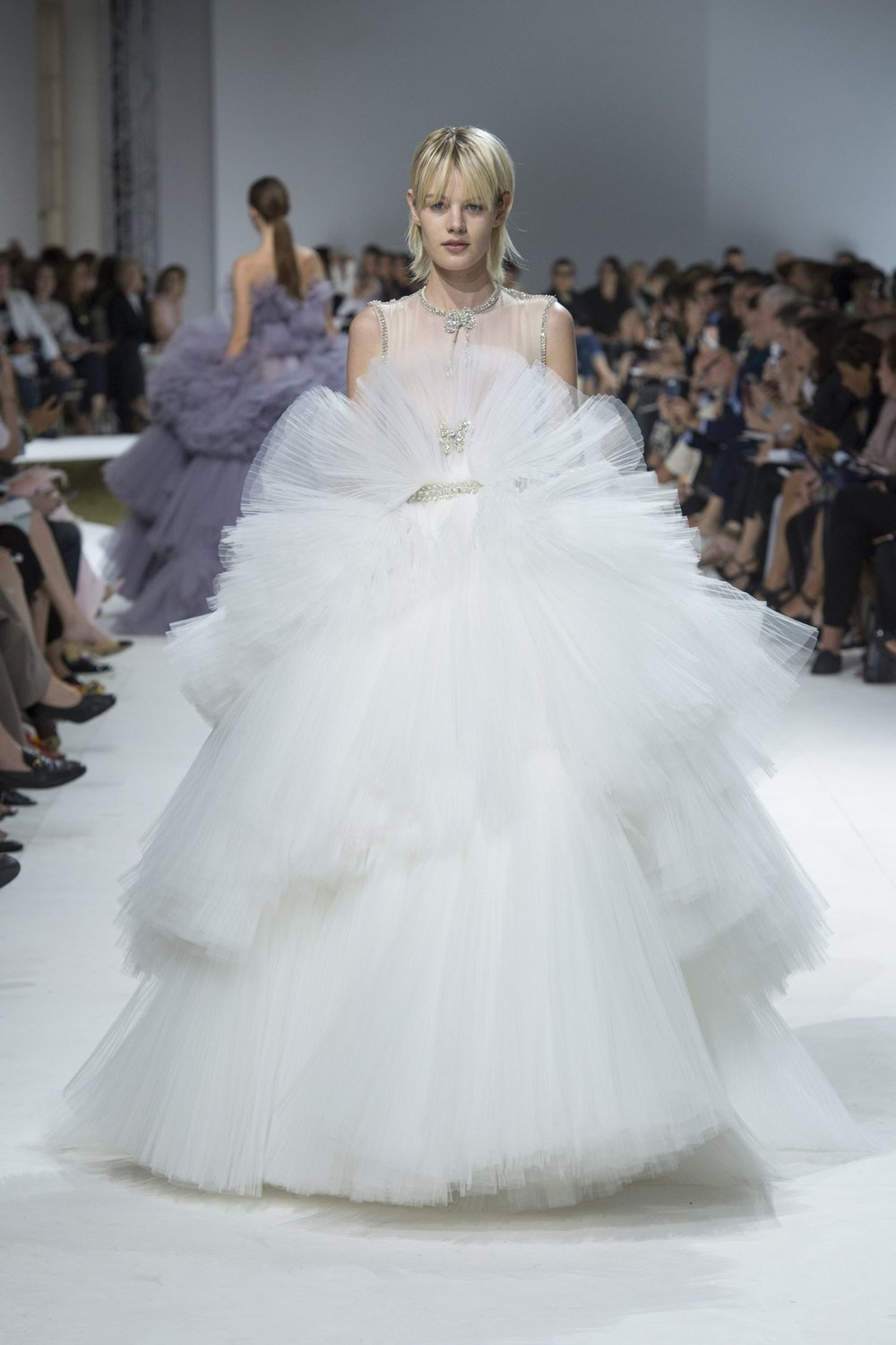Did someone say tulle?! An amazing creation by Giambattista Valli.