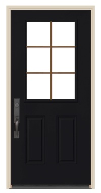 1:2 light entry door with glass pella j.com