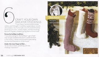 chatelaine dec 2013 inside