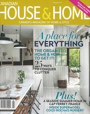 house home august 2015 cover - House And Homes Magazine