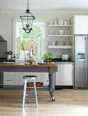 moveable kitchen island — PASSION FOR HOME DECOR — DEB ...