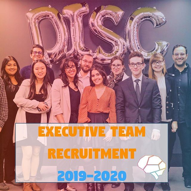 📣We are RECRUITING📣  Want to part of the team and gain valuable experience? APPLY NOW!! ➡️Open to all Concordia students  Interested? send your CV at info@disconcordia.com ‼️Deadline for submission May 5th‼️
